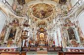 istock Interior of Birnau pilgrimage church on Lake Constance, Germany 1209492188