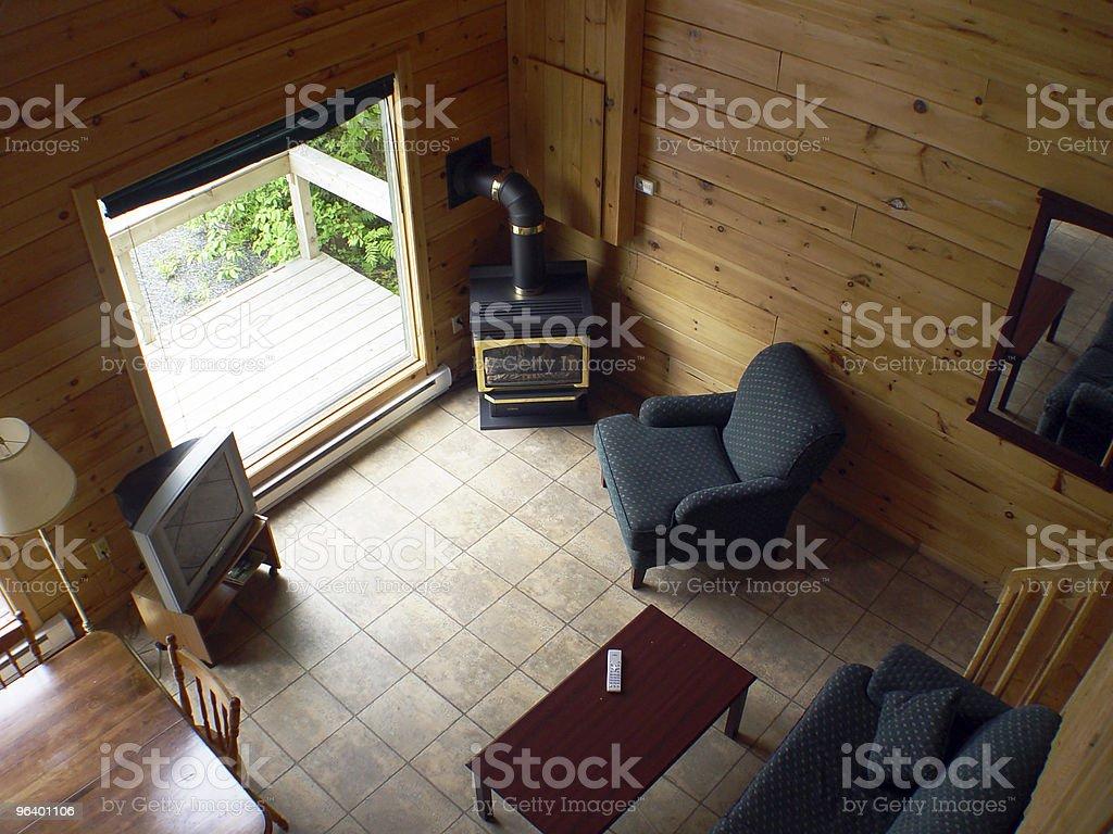 Interior of Cabin royalty-free stock photo