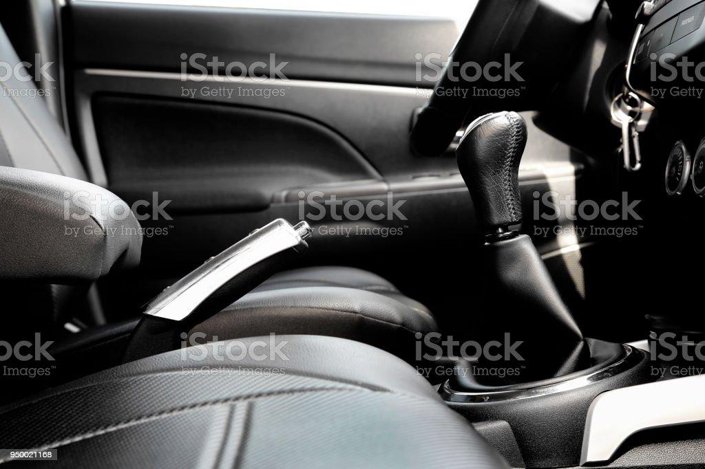 interior of car stock photo