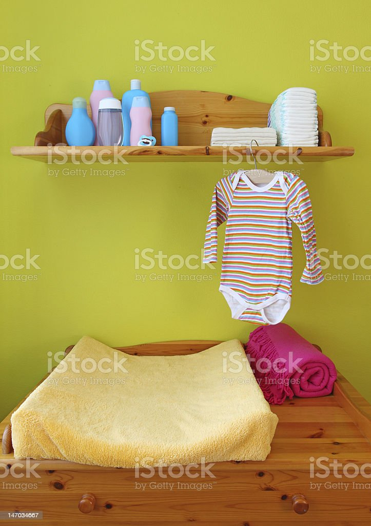 Interior of children room stock photo