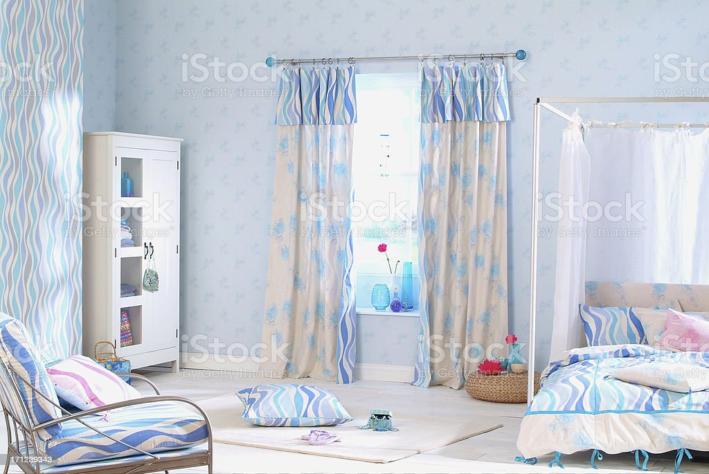 Interior of childrens bedroom royalty-free stock photo