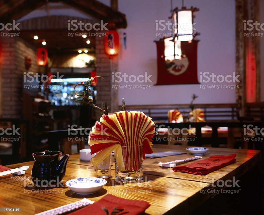 Interior Of Chinese Restaurant Stock Photo Download Image Now Istock