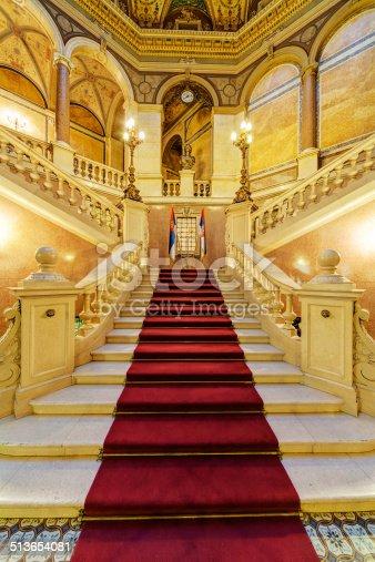 istock Interior of classic building 513654081