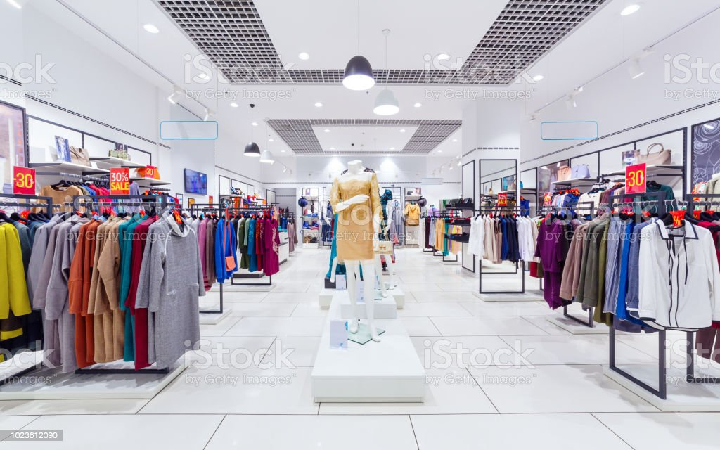 Interior Of Clothing Store Stock Photo Download Image Now Istock