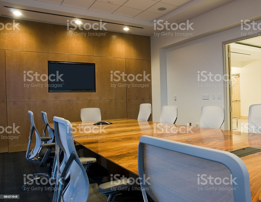 Interior of Conference Room royalty-free stock photo