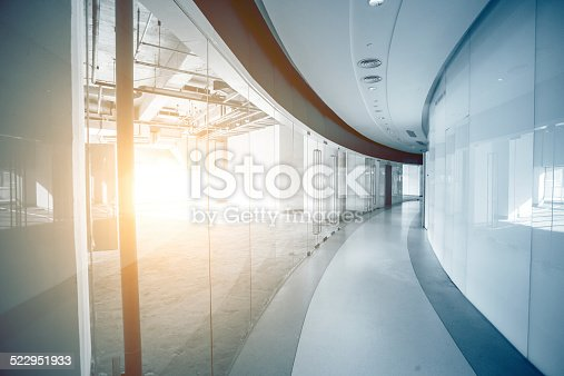 istock Interior of Contemporary Building 522951933