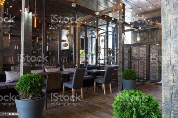Interior of cozy restaurant loft style picture id871944064?b=1&k=6&m=871944064&s=612x612&h=0iknrmwrdzgjlvc geb6lbgl856 vx57eh3adeoyii8=