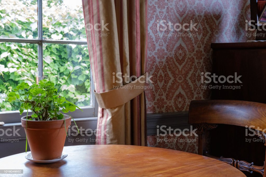 Admirable Interior Of Heritage Country House With Rustic Window Frame Caraccident5 Cool Chair Designs And Ideas Caraccident5Info