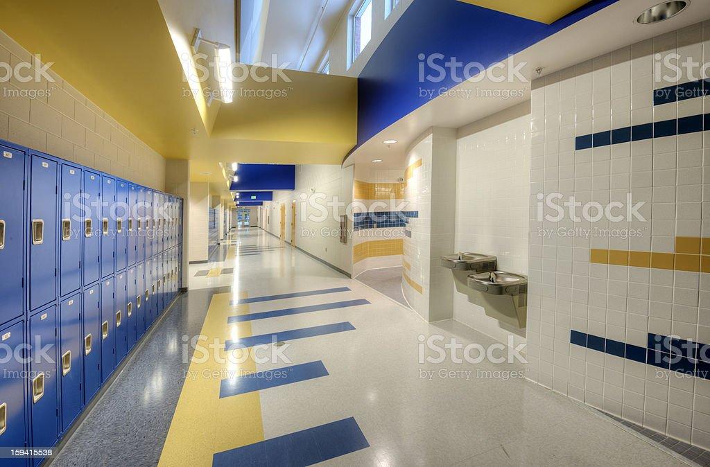 Innenansicht der High School – Foto