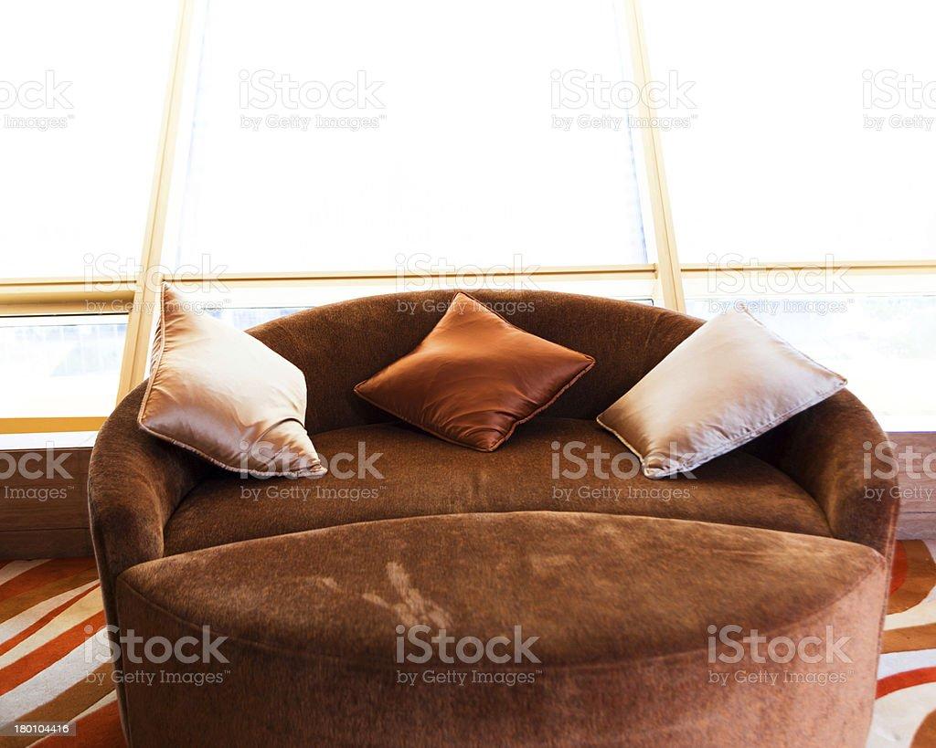 interior of hotel royalty-free stock photo