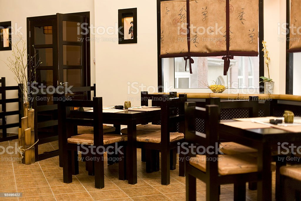 Interior Of Japanese Restaurant Sushi Bar Stock Photo Download Image Now Istock
