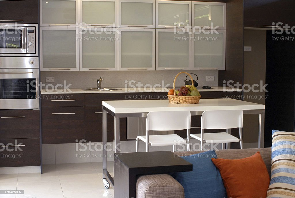 Interior of luxury apartment royalty-free stock photo