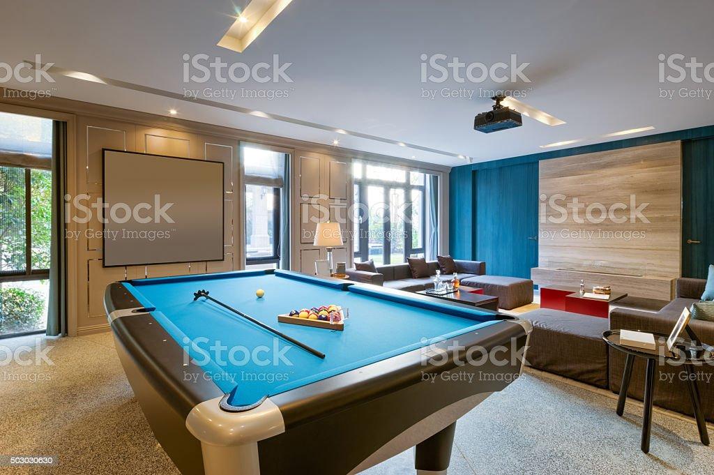 Innenraum Luxus recreation room – Foto