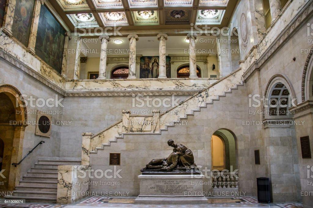 Interior Of Massachusetts State House Stock Photo & More