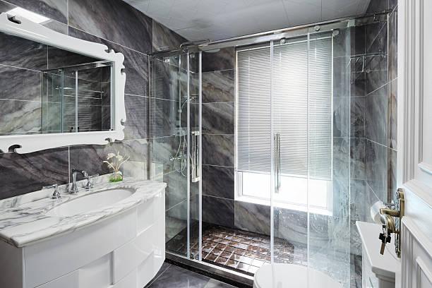 Interieur des modernen Badezimmer – Foto