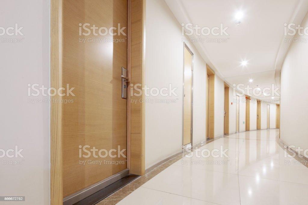 Interieur des modernen Korridor – Foto