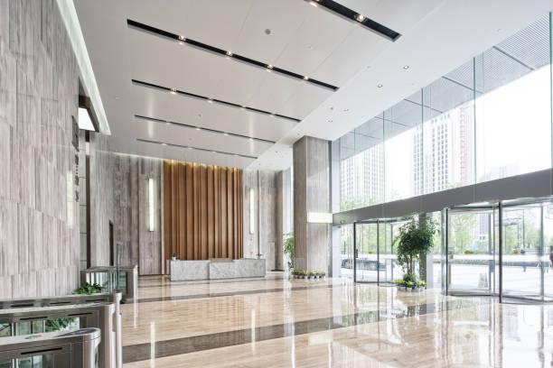 Innenraum Der moderne Eingangsbereich – Foto