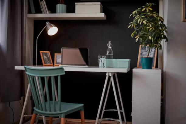 Interieur des modernen Home-Office. – Foto
