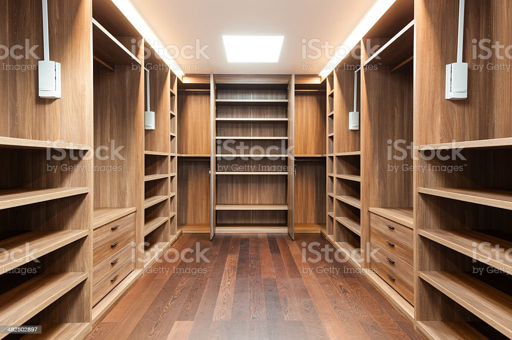 Interior of modern house stock photo