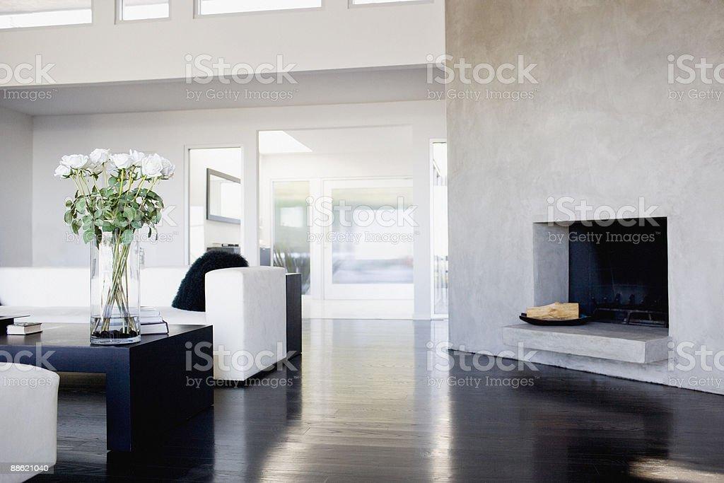 Intérieur de salon moderne photo libre de droits