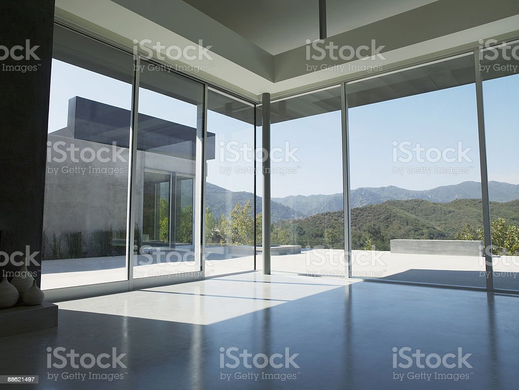 Interior of modern living room royalty-free stock photo