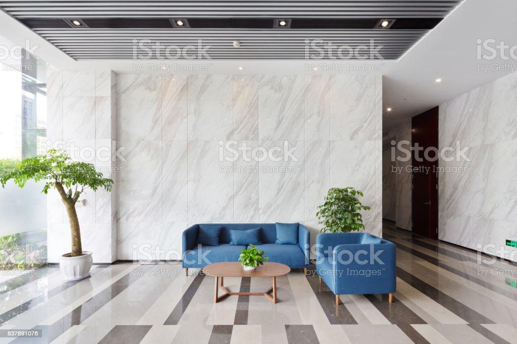 Innere des modernen lobby – Foto