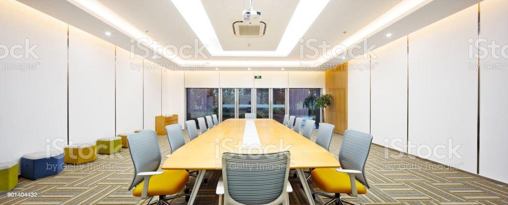 Interieur des modernen Meetingraum – Foto