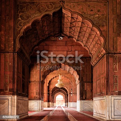 Jama Masjid in Delhi was completed in 1656 AD and for now is one of the largest mosques in India.
