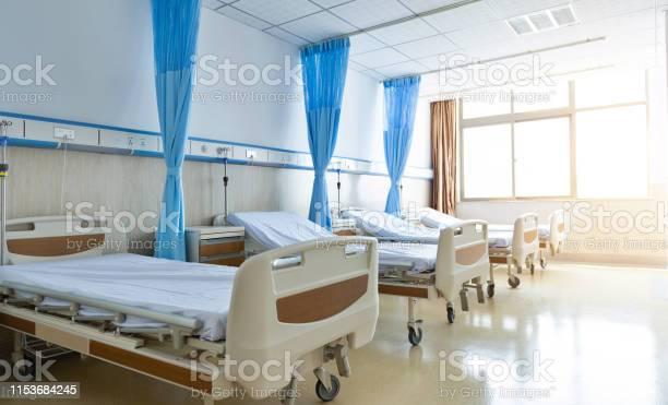 新しい空の病院の部屋のインテリア - からっぽのストックフォトや画像を多数ご用意