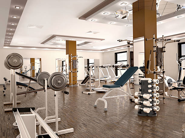 Best Gym Background Stock Photos, Pictures & Royalty-Free