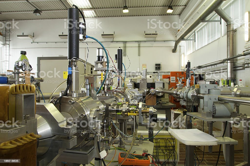 Interior of nuclear laboratory royalty-free stock photo