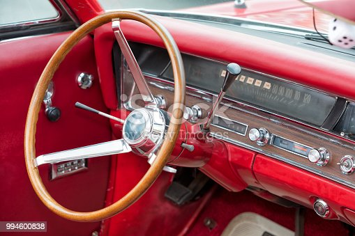467735055istockphoto Interior of Old American Car 994600838