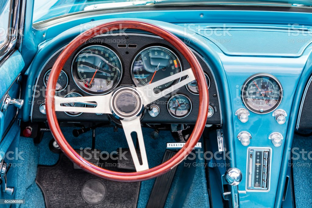 Interior Of Old Car Stock Photo More Pictures Of 1930 Istock