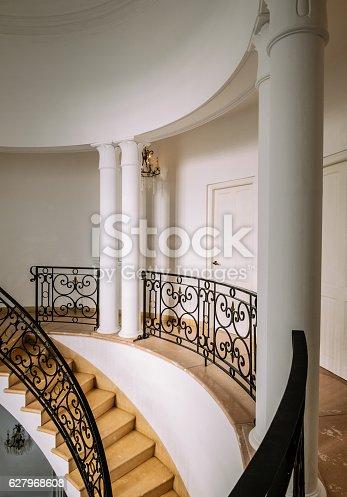 istock Interior of Old Havana Villa 627968608