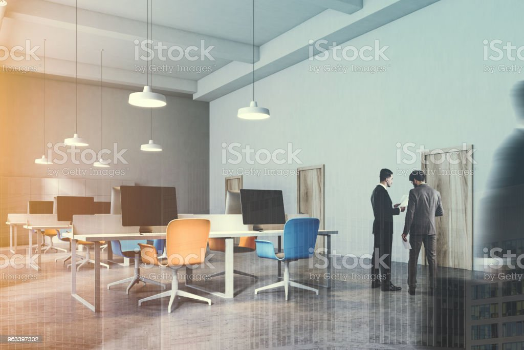 Y76ybgvf De Azul Sillas Naranja Foto Color Oficina Stock Y Interior UzpSMV