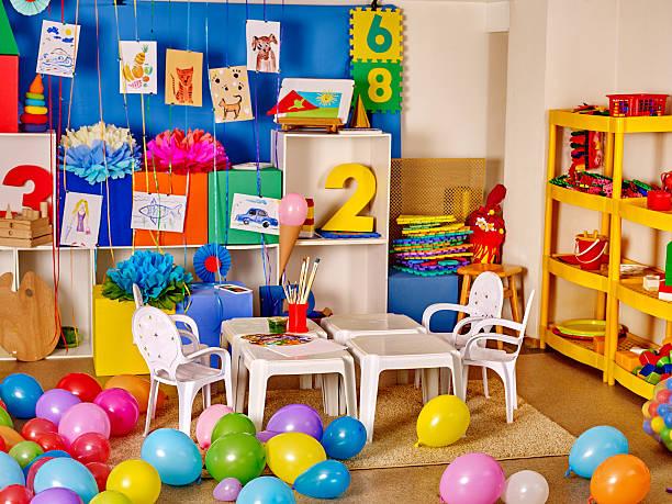 Innenraum der Kinder bereits im kindergarten – Foto