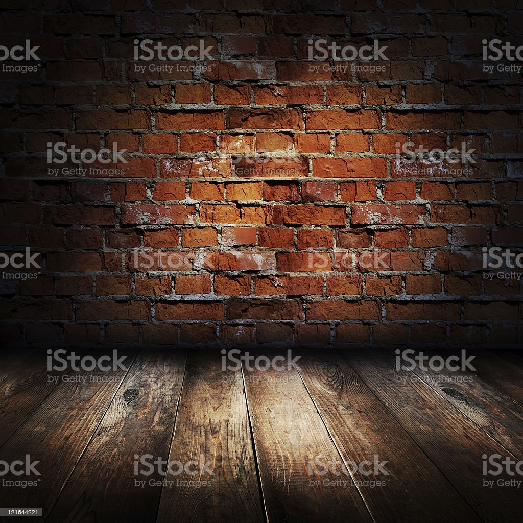 Interior of rural house. royalty-free stock photo