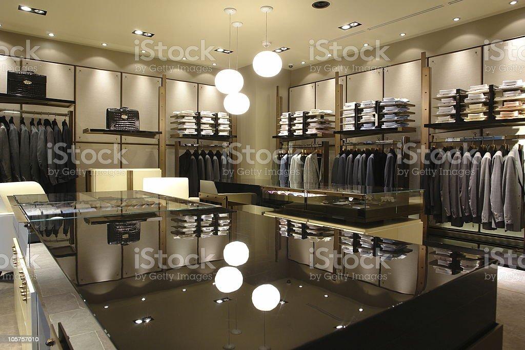 interior of shop royalty-free stock photo