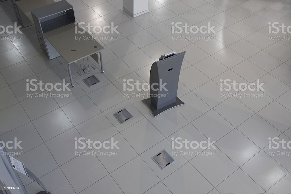 Interior of shop, the top view royalty-free stock photo