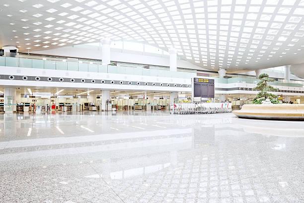 interior of shoppingmall stock photo