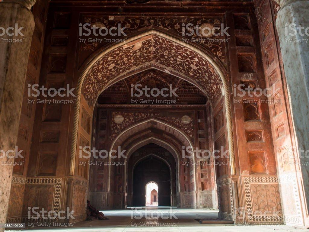 Interior of Taj Mahal. foto de stock royalty-free