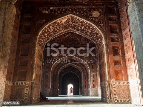 Interior Of Taj Mahal - Fotografias de stock e mais imagens de Agra