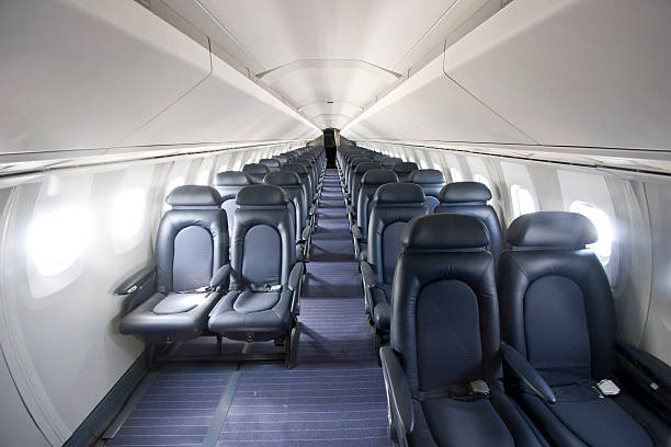 Interior of the Concorde  supersonic airplane stock pictures, royalty-free photos & images