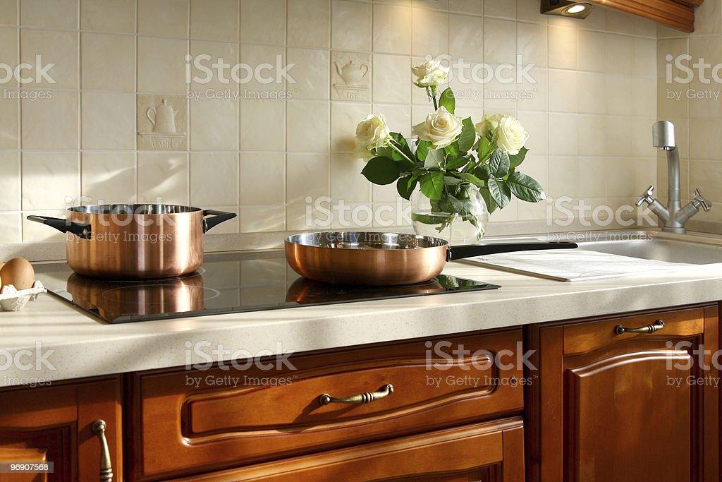 Interior of the kitchen royalty-free stock photo