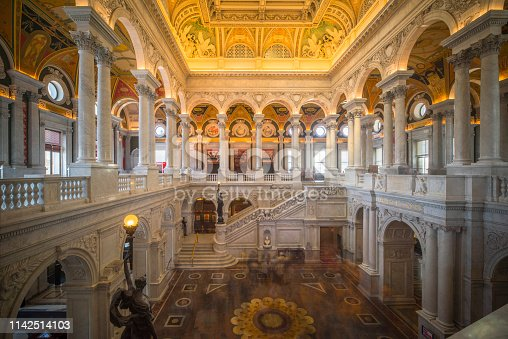 Library of Congress, Capitol Hill, USA, Washington DC, Built Structure