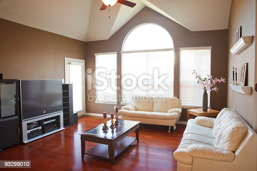 Clean family room.