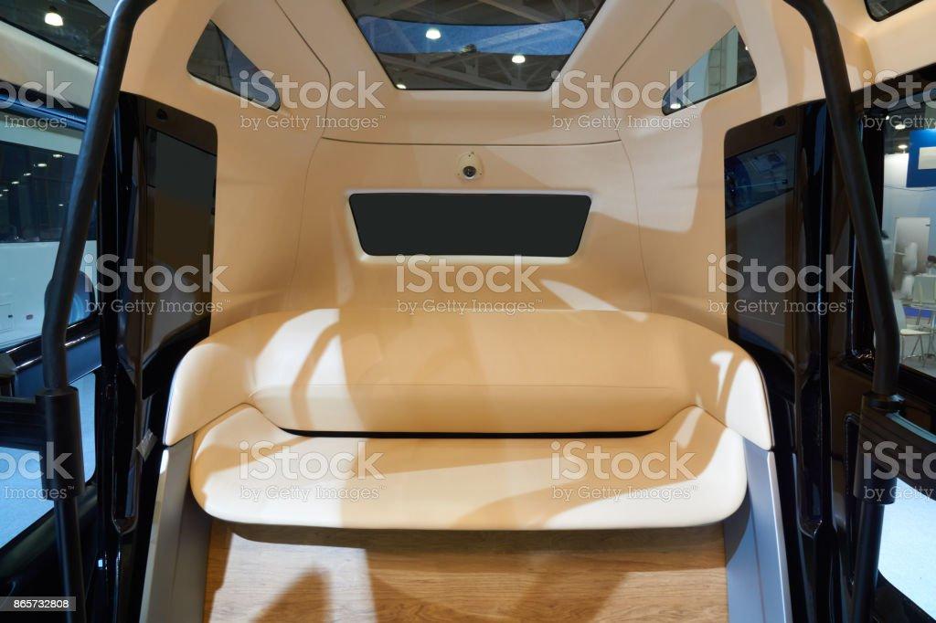 Innenraum des Mini-bus – Foto