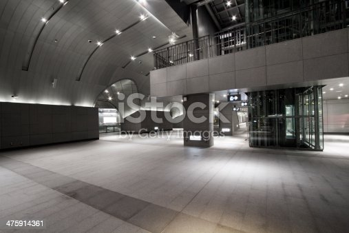istock interior of the modern station building 475914361