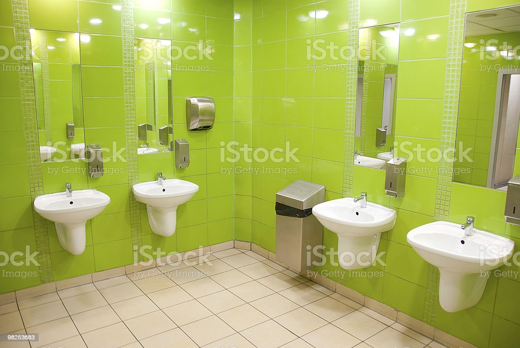 Interior of the toilet royalty-free stock photo