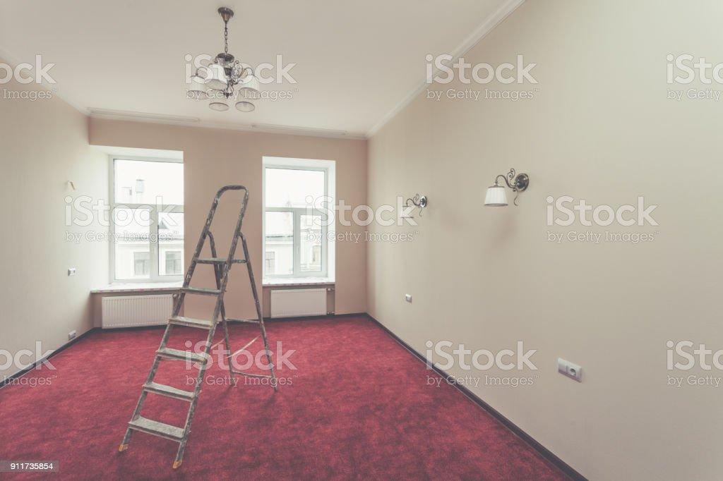 Interior De Actualización Apartamento Con Escalera Y Algunos ...